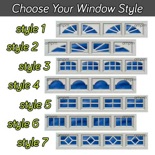 garage doors with windows styles. Choose Your Garage Door Window Style Doors With Windows Styles